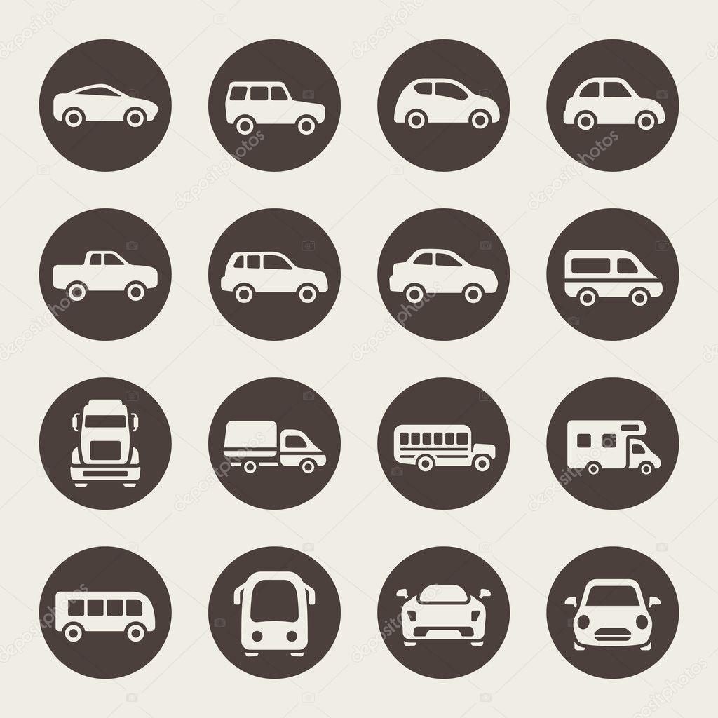 Car Icon Set Car Icon Set Vector by