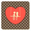 Valentine's Day card — Stock Vector #37003613