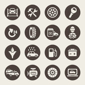 Car service icon set — Stock vektor