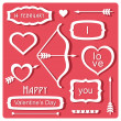 Valentine's Day elements — Stock Vector #38316739