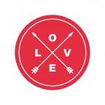 Love emblem — Stock Vector #40627689