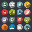 Stock Vector: Infographics icons