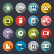Home rental services icon set — Stock Vector #42876389