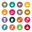 Cooking icon set — Stock Vector #46051491