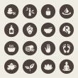 Spa icon set — Stock Vector #46051549