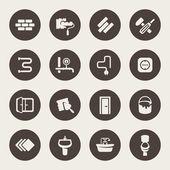 Repair icon set — ストックベクタ