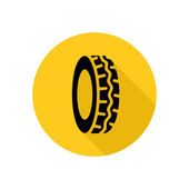 Tire service icon — Stock Vector