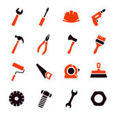 Work tools icon set — Stock Vector