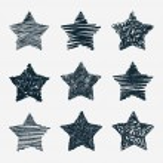 Hand drawn stars — Stock Vector #51283747