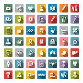 Lékařské ikony — Stock vektor