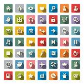 Web iconen — Stockvector