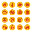 Real estate icons — Stock Vector #51423075
