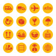 Logistics icons — Stock Vector #51423085