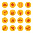 Food icons — Stock Vector #51423135