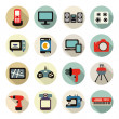 Home electronics icons — Stock Vector #51423497