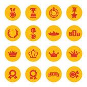 Award icons — Stock Vector