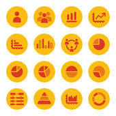 Infographics icons — Stock Vector