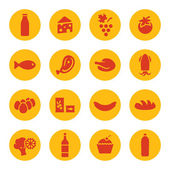 Food icons — Vetorial Stock