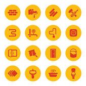 Repair icons — Stock Vector
