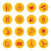 Science icons — Cтоковый вектор