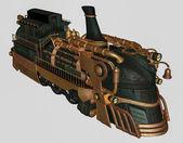 Fantasy train — Stock Photo