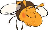 Bee blindly — Stock Vector