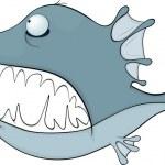 Fish. Cartoon — Stock Vector