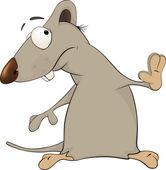 Szczur kreskówka — Wektor stockowy