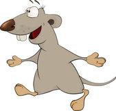 Rat cartoon — Stock Vector