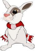 Rabbit Cartoon — Stock Vector