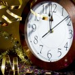 Stock Photo: 2013 New Years Party Background