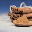 Bunch of cinnamon stick — Stock Photo #16034419