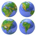 Planet earth — Stock Photo #1342167
