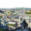 Panoramic view - Salzburg — Stock Photo