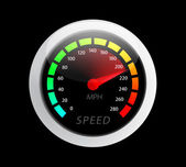 Speedometer Vector illustration — Stock Vector