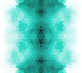 Trojúhelník retro pozadí. — Stock vektor