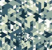 三角形のレトロな背景. — ストックベクタ