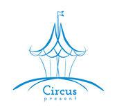Cirkus znamení — Stock vektor