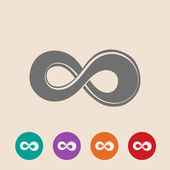 Symbol nieskończoności — Wektor stockowy