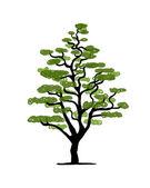 Art tree design — Stock Vector