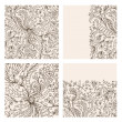 Royalty-Free Stock Vectorielle: Floral ornament, hand drawn sketch for your design