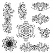 Set of floral ornaments for your design — Stock Vector #27609519