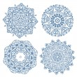 Set of arabesque ornament for your design — Stok Vektör #30628477
