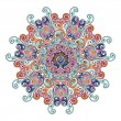 Colorful arabesque ornament for your design — Imagens vectoriais em stock
