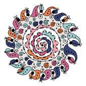 Ornamento do círculo colorido para seu projeto — Vetorial Stock