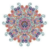 Ornamento de arabesco colorido para seu projeto — Vetorial Stock