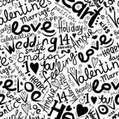 Valentine seamless pattern for your design — Wektor stockowy