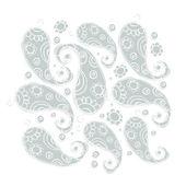 Patrón floral vintage para su diseño — Vector de stock