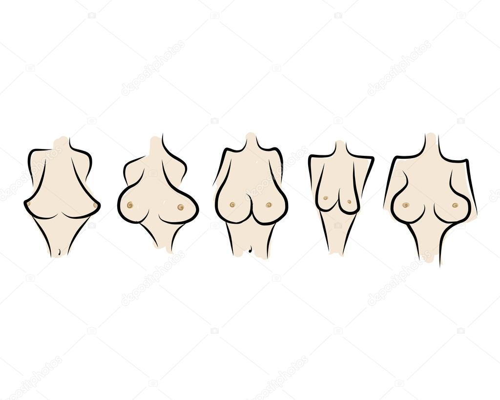 Типы женской груди фотографии 17 фотография