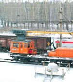 Train en russie — Photo